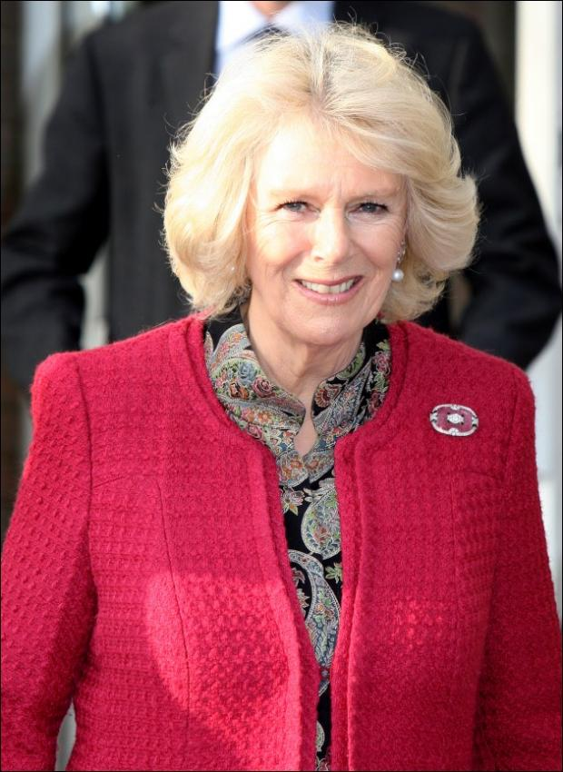 Camilla, Duchess of Cornwall is in Wiltshire today