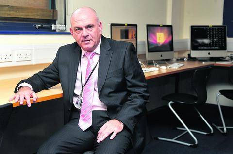 This Is Wiltshire: George Croxford, headteacher of Royal Wootton Bassett Academy