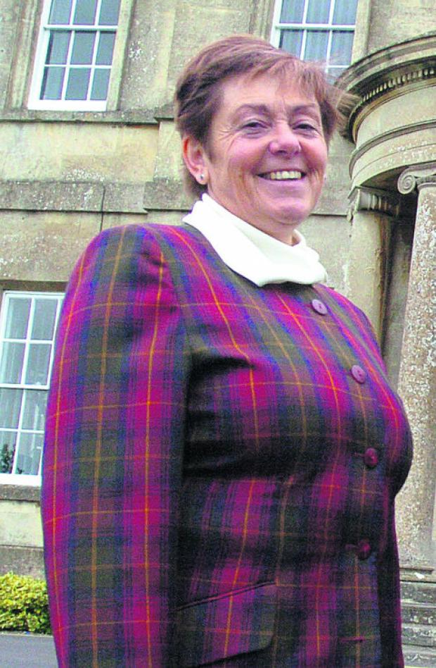 This Is Wiltshire: Hardenhuish School headteacher Jan Hatherell
