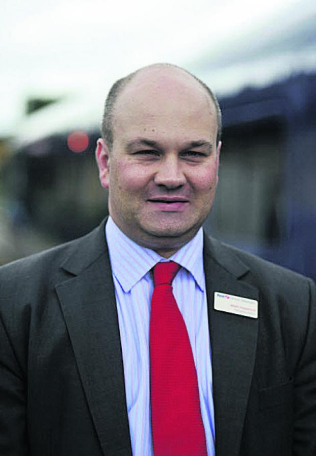 This Is Wiltshire: Mark Hopwood, First Great Western managing director