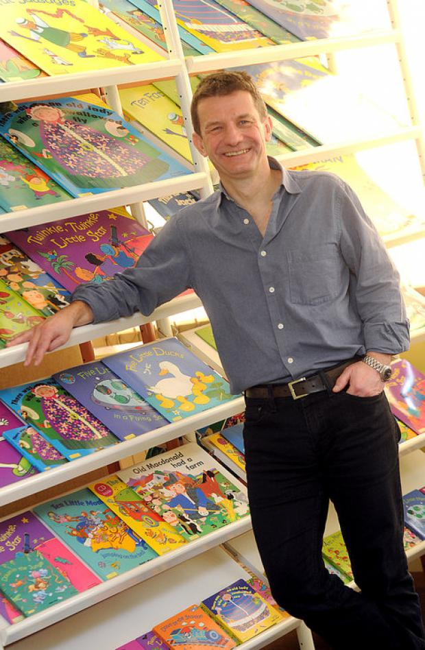 This Is Wiltshire: Child's Play publisher and managing director Neil Burden