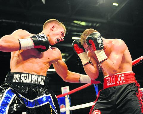 This Is Wiltshire: Nick Blackwell (left) will return to action in March
