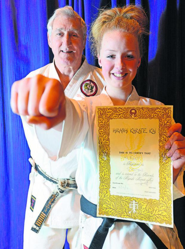 This Is Wiltshire: Neave Root with sensei Pete Whitney