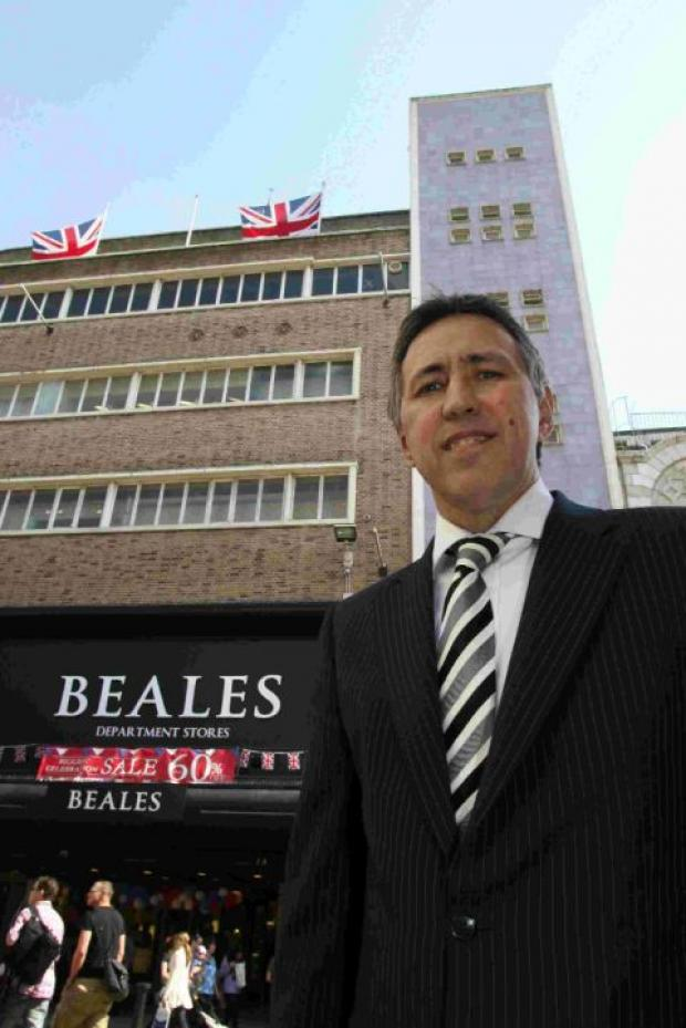 This Is Wiltshire: Tony Brown, Beales' chief executive officer has announced that around seven people will lose their jobs at the warehouse