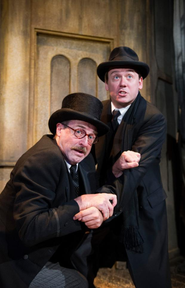 This Is Wiltshire: A scene from the Woman In Black, which is at the Wyvern Theatre from January 7