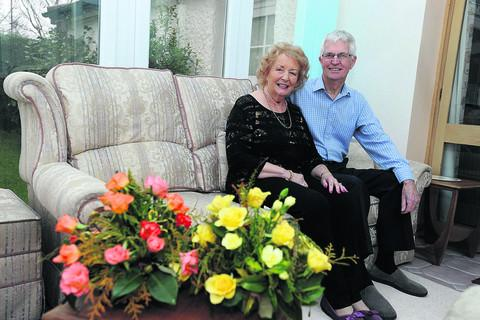 This Is Wiltshire: Jill and Brian Davis, who have celebrated 60 years of marriage.