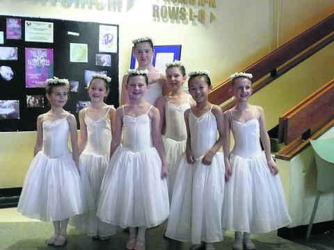 This Is Wiltshire: The dancers who took part in the Regional Youth Ballet's performance