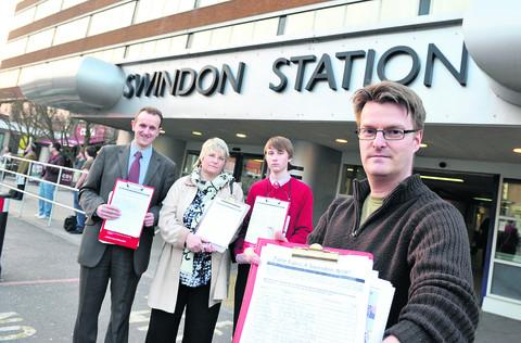 This Is Wiltshire: Chris Watts wants fairer fares for rail passengers