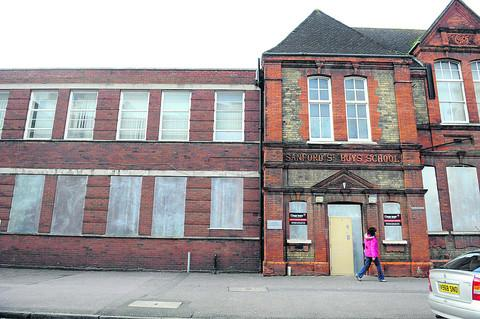 This Is Wiltshire: Former Sanford Street School is lying enpty