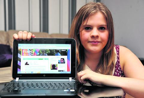 This Is Wiltshire: Sophie Thorne has made a film about her experiences with cyber bullying