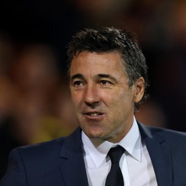 This Is Wiltshire: Dean Saunders, pictured, replaces Stale Solbakken as manager of Wolves