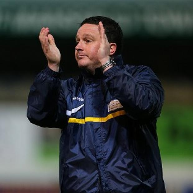 This Is Wiltshire: Stags boss Paul Cox was stoic despite narrowly missing out to Liverpool