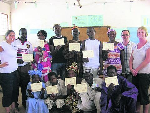 This Is Wiltshire: The charity at work in The Gambia