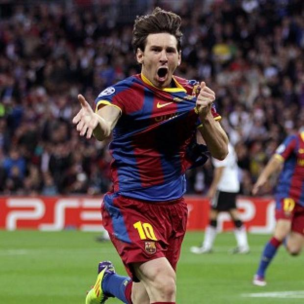 This Is Wiltshire: Lionel Messi scored 91 goals in 2012