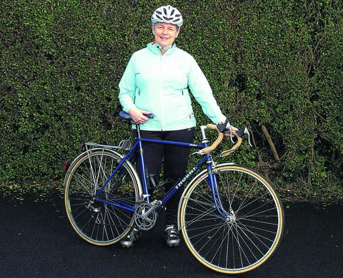 This Is Wiltshire: Cyclist Laurinda Watt, who is returning to work this month after an accident last summer