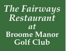 The Fairways Restaurant @ Broome Manor Golf club