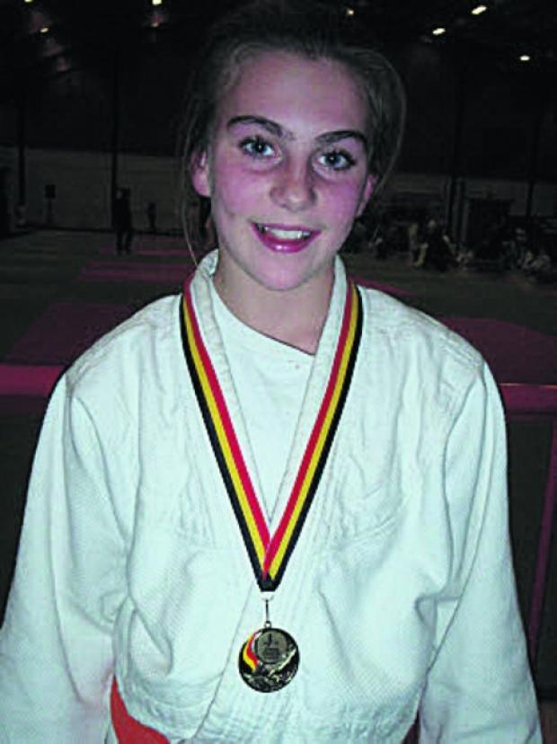 This Is Wiltshire: Lea Judo Club's Ellen Holder with her European bronze medal