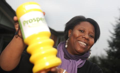 This Is Wiltshire: Gifty Tawiah, who co-ordinates the box collections for Prospect Hospice