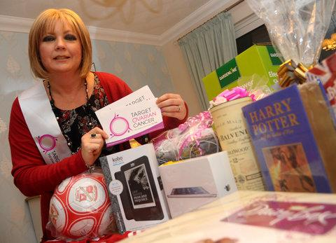 This Is Wiltshire: Tracey Toop is battling ovarian cancer and held a fundraiser for Target Ovarian Cancer