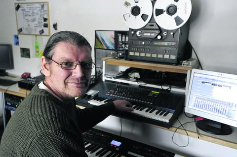 This Is Wiltshire: Martin Jones is recording a CD to raise money for charity