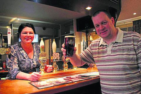 Wayne and Katherine Jones have taken on the tenancy of The Rose and Crown pub at Lea