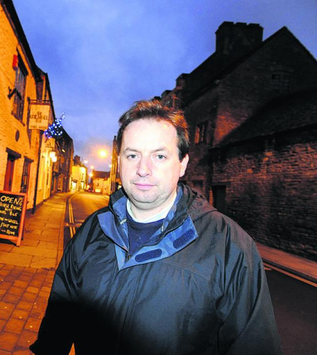 This Is Wiltshire: Malmesbury town and Wiltshire councillor Simon Killane says the town's neighbourhood plan is the best way forward