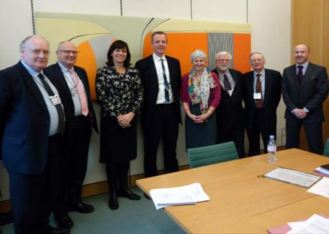 MP Claire Perry and Devizes leaders meet with Nick Boles