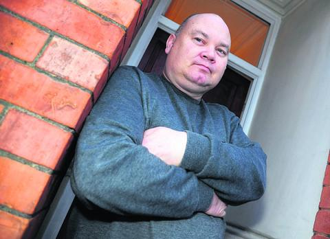 This Is Wiltshire: David Lawrence had help from a housing resettlement officer