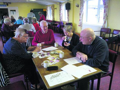This Is Wiltshire: Members of the Devizes Stroke Club, which meets at the Nursteed Centre is seeking more volunteers for its weekly meeting