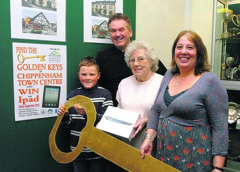 This Is Wiltshire: Golden keys unlock prize or Chippenham boy