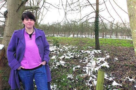 This Is Wiltshire: Iona Hassan is a spokeswoman for concerned residents