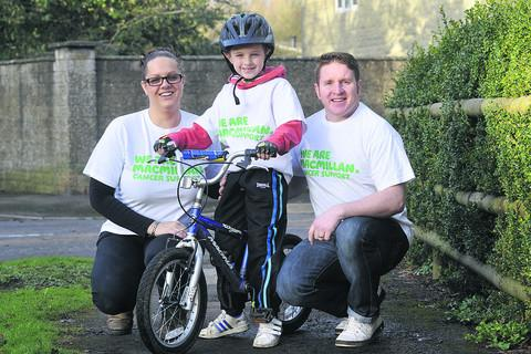 This Is Wiltshire: Kian Healy with parents Lucy and Odran