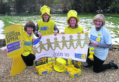 This Is Wiltshire: Celebrating the launch of the new fundraising group are, from the left, Susy Lenihan, Caroline