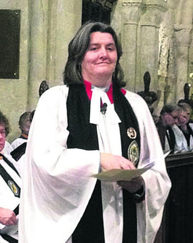 Ruth Worsley, Archdeacon of Wiltshire