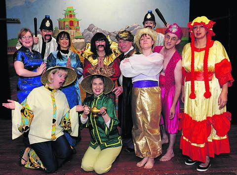 This Is Wiltshire: The cast of Aladdin with the Box Pantomime Grou