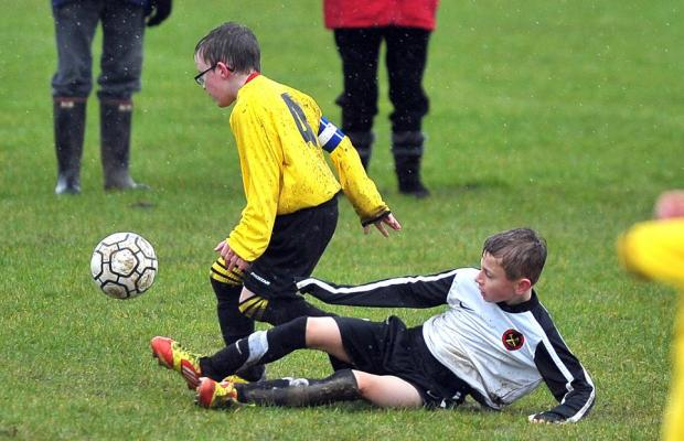 This Is Wiltshire: Action from Swindon Rangers' game with Shaw