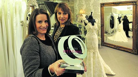 Business partners Carina Baverstock and Lucy Hayward-Rodgers