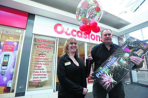 This Is Wiltshire: Caz and Mike Flute of Occasions for Balloons