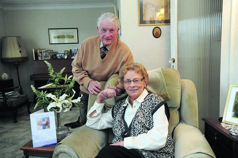 This Is Wiltshire: Ralph and Pauline Harding celebrate their diamond wedding