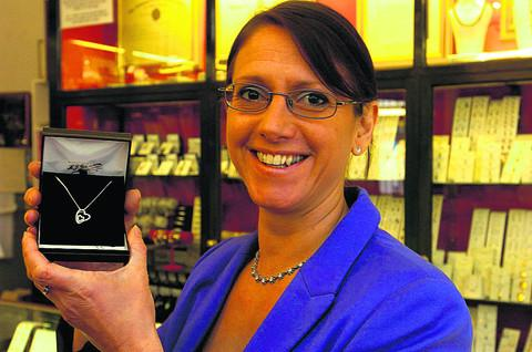 Devizes jeweller Ruth Matthews says sales have risen in recent weeks