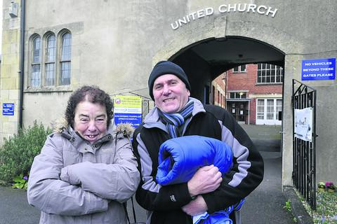 This Is Wiltshire: Rob Jones of United Church and Heather Lamont from Alabare Christian Care and Support