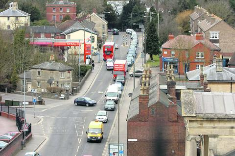 This Is Wiltshire: Devizes traffic congestion