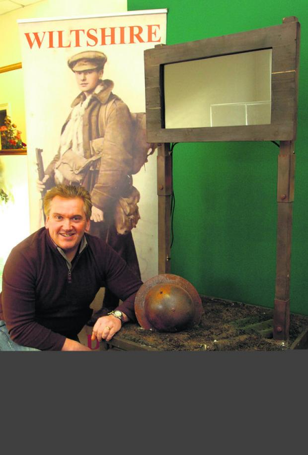 This Is Wiltshire: Richard Broadhead will have his First World War film screened at this year's Cannes Film Festival