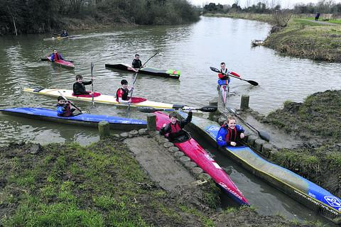 This Is Wiltshire: Canoe club youngsters celebrating at their revamped facility