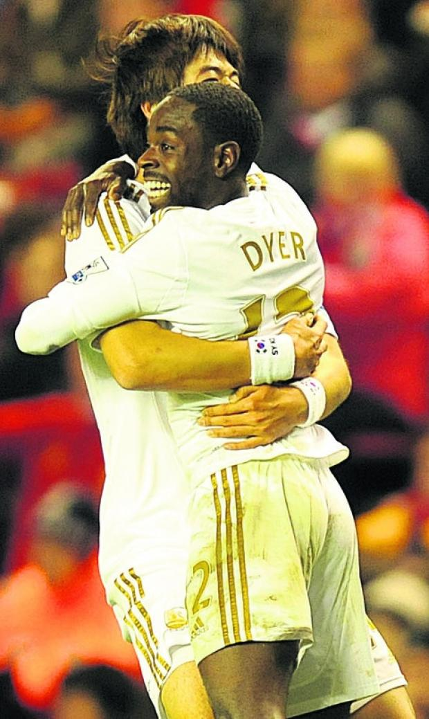 This Is Wiltshire: Nathan Dyer is hoping for cup glory this weekend