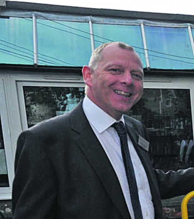 This Is Wiltshire: Holbrook Primary School headteacher Roger Whitewick