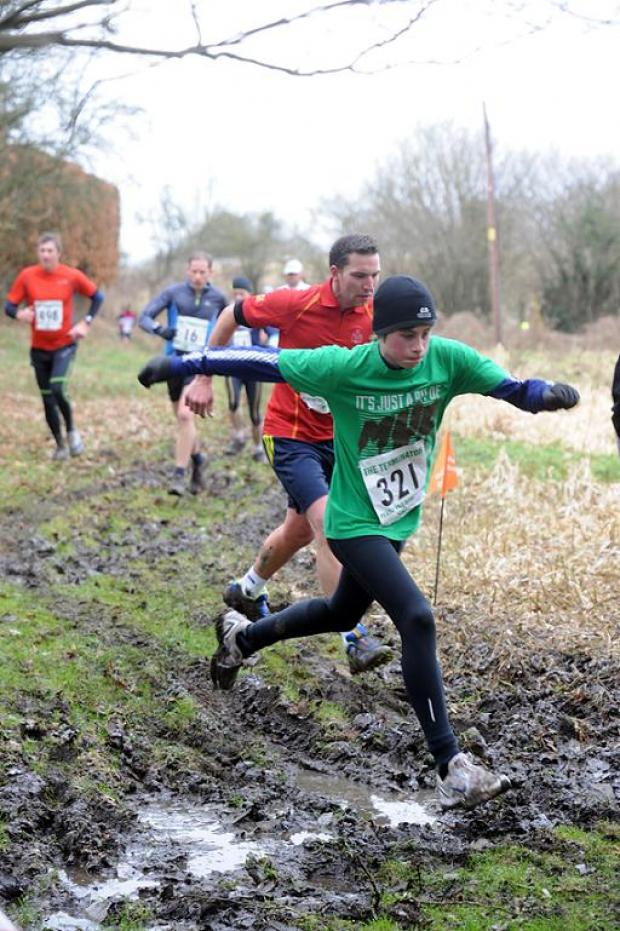 Action from the Terminator multi-terrain race