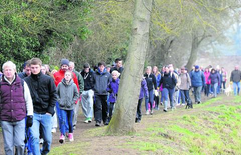 This Is Wiltshire: The annual Walk Of Memories