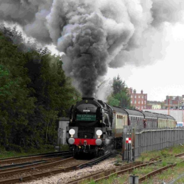 This Is Wiltshire: Westbury start for Cathedrals Express steam trip