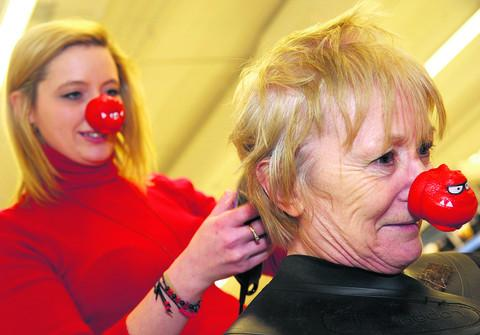 This Is Wiltshire: Marion Bird shaved her head for Comic Relief